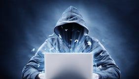 хакер Стоковые Фотографии RF