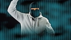 хакер сток-видео