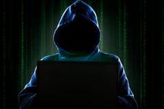 хакер стоковая фотография rf