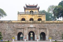 Ханой, Вьетнам - 21-ое января 2015: Центральный участок имперского Cit стоковые фотографии rf