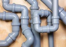 Хаос канализационных трубов Стоковые Фотографии RF