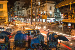 Хаос Катманду Стоковые Изображения RF