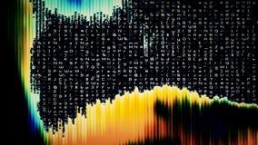 Хаос 0231 цифровых данных иллюстрация штока