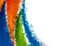 Хаотические красочные лиманды, абстрактная предпосылка элемент конструкции ваш Стоковые Фото