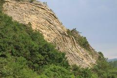 Характеристика Anticline геологохимическая Стоковые Изображения