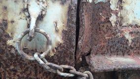Характеристики старого металлического листа стоковая фотография