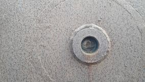 Характеристики старого металлического листа стоковое фото