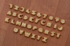 Характеры алфавита шутихи Стоковое Изображение RF