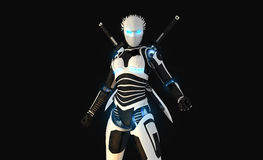 Характер андроида Стоковые Фотографии RF