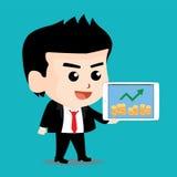 Характер бизнесмена Стоковое Изображение RF