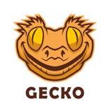 Характер гекконовых головной бесплатная иллюстрация