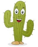 Характер кактуса шаржа Стоковое Изображение
