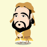 Характер Конфуция Стоковая Фотография RF