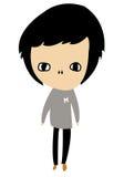 характер мальчика Стоковое Изображение RF
