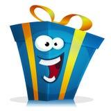 Характер подарка на день рождения Стоковое Изображение