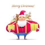 Характер Санта Клаус Стоковая Фотография