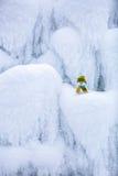 Характер сказки снеговик в шляпе и шарфе Стоковые Изображения RF
