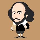Характер Уильям Шекспир Стоковая Фотография RF