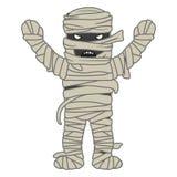 Характер хеллоуина мумии Стоковая Фотография RF