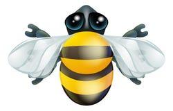 Характер черепашки пчелы шаржа Стоковое фото RF