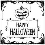 характер halloween предпосылки изолированный над плакатом также вектор иллюстрации притяжки corel иллюстрация штока