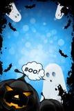 характер halloween предпосылки изолированный над плакатом Стоковая Фотография