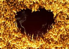 Харт пожара Стоковое Изображение RF