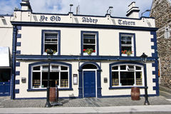 Харчевня De Стар Аббатства, Howth, Ирландия стоковое фото