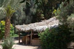 Хата в джунглях Стоковое Фото