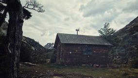 Хата горы Стоковое Изображение RF