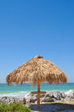 хата пляжа штанги Стоковая Фотография RF