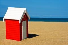 хата пляжа Стоковое Изображение RF
