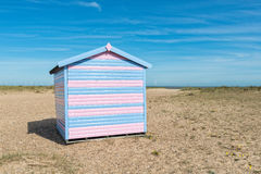 Хата пляжа на Great Yarmouth Стоковое Фото