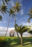хата пляжа тропическая Стоковые Фото