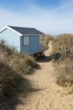 Хата пляжа Hunstanton Стоковое Изображение