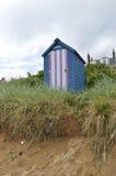 Хата Frontview пляжа Стоковое фото RF