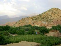 Хаты & горы Стоковое фото RF