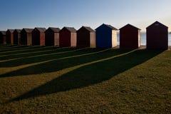 Хаты пляжа Стоковое Изображение