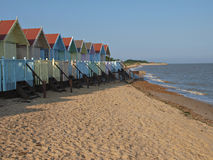 хаты пляжа Стоковое Фото