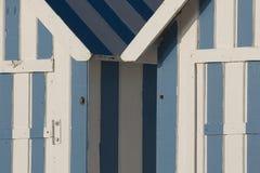 Хаты пляжа Стоковая Фотография