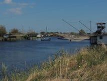 Хаты рыболовов Стоковое Фото