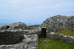 Хаты улья Сух-камня в Ирландии Стоковые Изображения RF