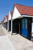 хаты bournemouth пляжа Стоковая Фотография RF