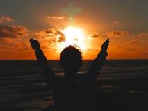 хвалить бога Стоковое Изображение RF