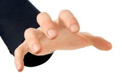 хватая рука Стоковая Фотография RF