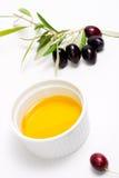 хворостина прованских оливок масла чисто Стоковые Изображения RF