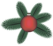 Хворостина рождества Стоковые Изображения RF