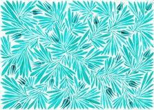 Хворостины акварели с цветками Стоковые Фотографии RF