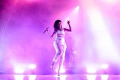 Хворостины FKA выполняют в концерте на фестивале 2015 звука Primavera Стоковое Изображение