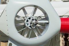 Хвостовой ротор вертолета Стоковое Фото